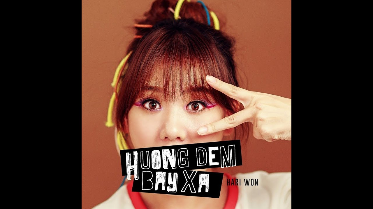 Hương Đêm Bay Xa - Hari Won ( Lyric Video ) - YouTube