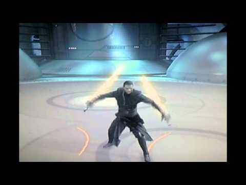 Star Wars The Force Unleashed 2 Moves