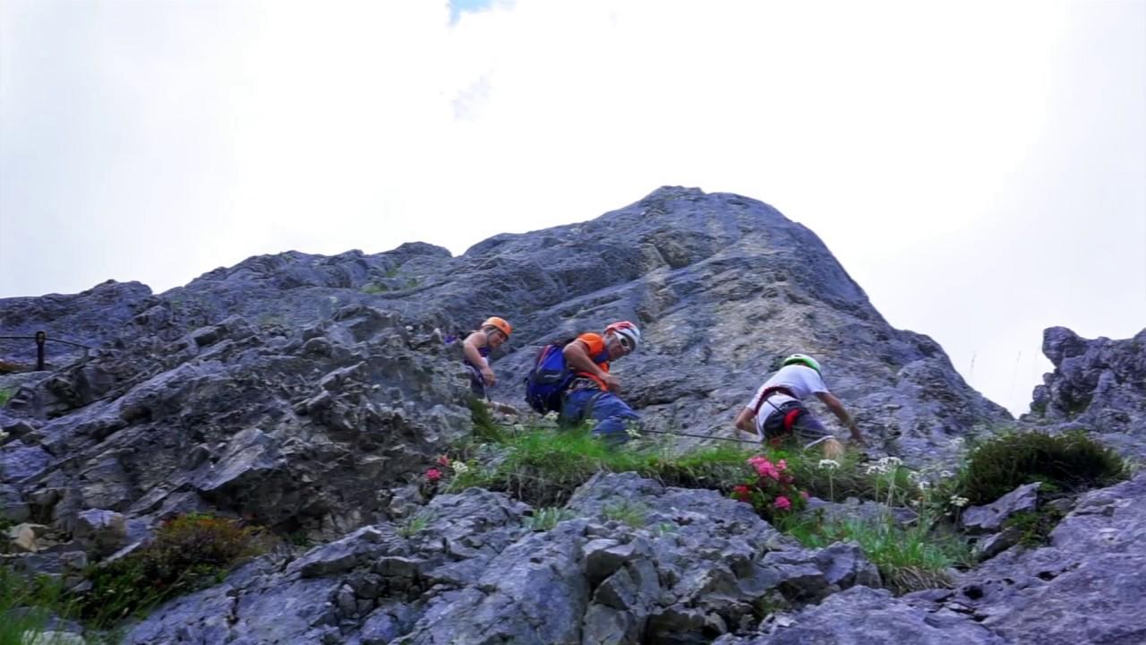 Klettersteig Zauchensee : Weißbach klettersteige