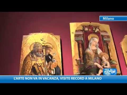 L'arte Non Va In Vacanza, Visite Record A Milano