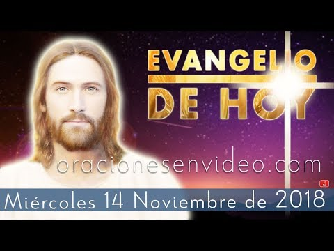 Evangelio de Hoy Miércoles 14 Noviembre 2018Tu fe te ha salvado