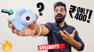 My ₹400 Digital Camera - Cheapest Camera - Giveaway🔥🔥🔥