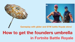 How to get the Founders Umbrella in Fortnite!