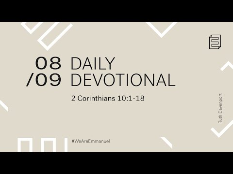 Daily Devotional with Ruth Davenport // 2 Corinthians 10:1-18 Cover Image