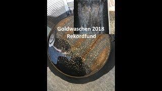 Goldwaschen mit Rekordfund 7,57g !! (Österreich)