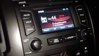 KIA SORENTO SIRIUS XM SOUND ISSUES PROBLEMS
