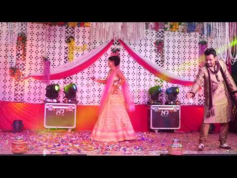 Bride's Dance On Nahi Lage Jiya Tere Bin, Ankho Ko Teri Adat Hai & Long-Lachi..