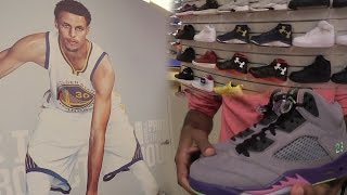 I MET STEPHEN CURRY IRL! HEAT SNEAKER PICKUP! BIG CLOTHING HAUL!  SneakerHead Shoe Vlog Ep.27