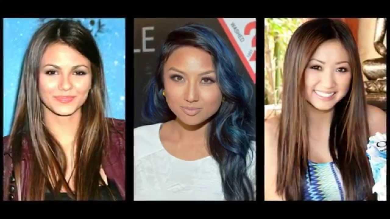 Frisur Lange Haare Rundes Gesicht Youtube