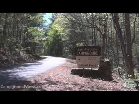 CampgroundViews.com - Lake Powhatan Recreation Area & Campground Asheville North Carolina NC
