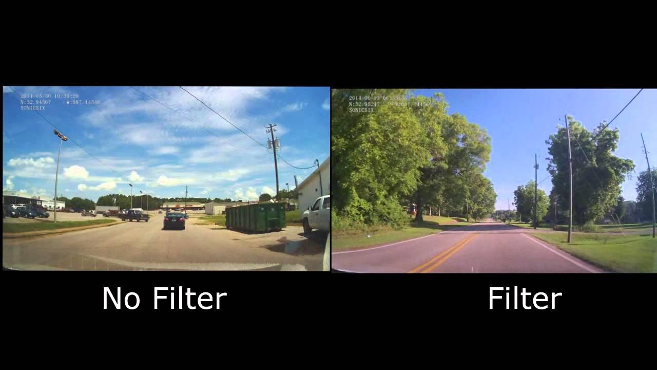 Mini 0801 Dash Cam Polarized Filter Youtube