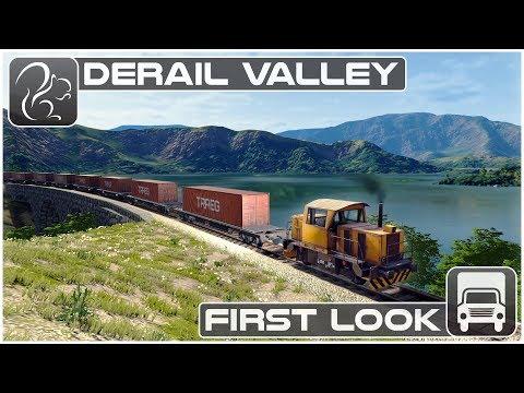 Derail Valley - First Look