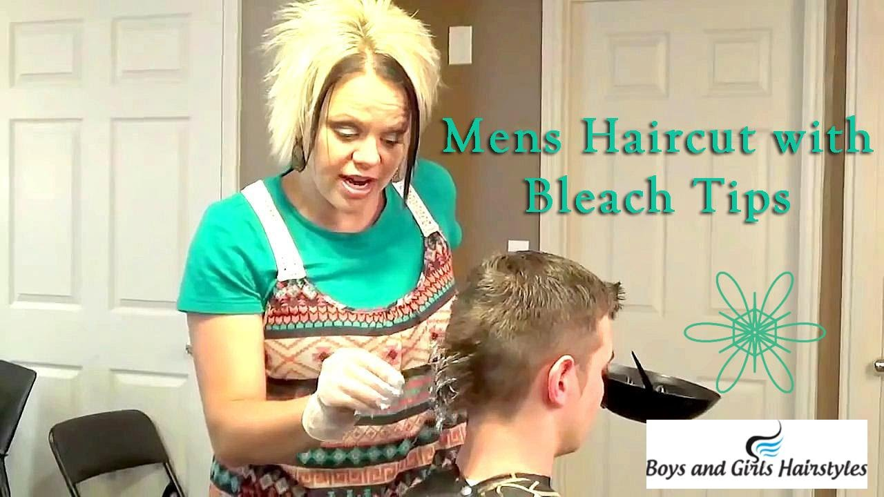 How To Bleach Hair Bleaching Men Hair Youtube
