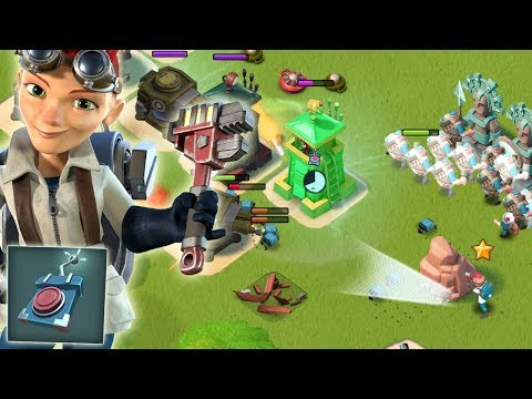 Boom Beach HACKING Dr T!! Grenadier and Universal Remote Strategy
