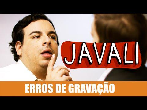 Erros de Gravação – Javali