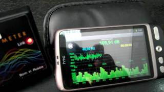 SPL-LAB Androind Software with  WIRELESS BASS METER