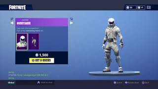 NEW WHITEOUT AND OVERTAKE SKIN IN Fortnite Battle Royale