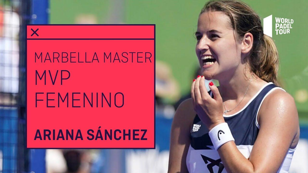 MVP Cervezas Victoria Marbella Master 2021: Ariana Sánchez | World Padel Tour