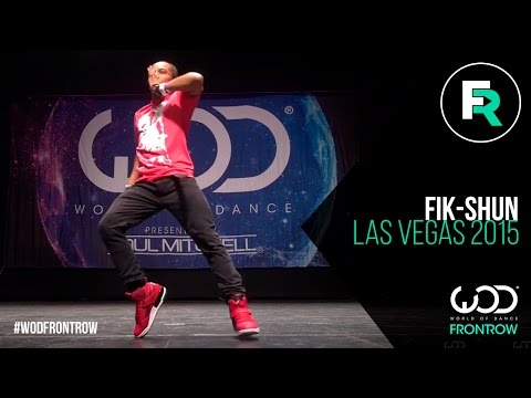 Fik-Shun | FRONTROW | World of Dance Las Vegas 2015...
