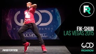 Fik Shun FRONTROW World of Dance Las Vegas 2015 WODVEGAS15