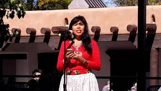 INDIGENOUS PEOPLES DAY 2019 - SANTA FE, NM  - Christina Castro Introduction MMIW