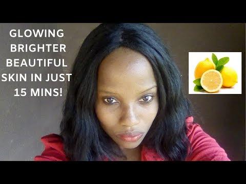 This Works like Crazy!!! Lemon Sugar Face/Body Scrub (Glow Up Now!)