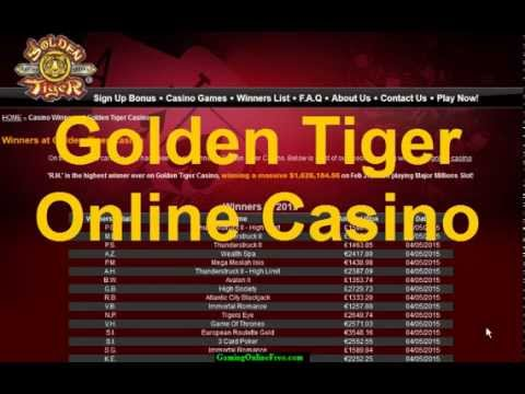 BIG Winners Golden Tiger Casino On EASTER