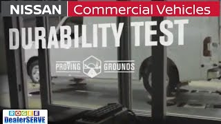 Commercial Vehicles Proving Grounds - DURABILITY Test - Nissan NV Cargo Vans - ROGEE