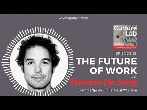 Thimon De Jong on CultureLab