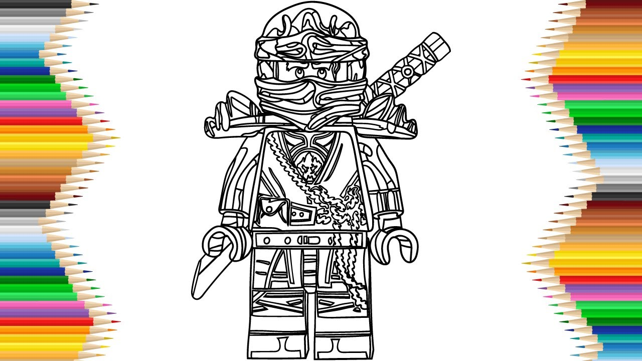 Lego Ninjago Cole Hands Of Time Drawing Amp Coloring For