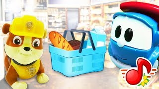 Видео про игрушки: Что купят Грузовичок Лева и Крепыш в Магазине?