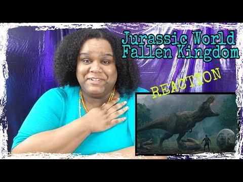 Official Jurassic World Fallen Kingdom trailer | Reaction
