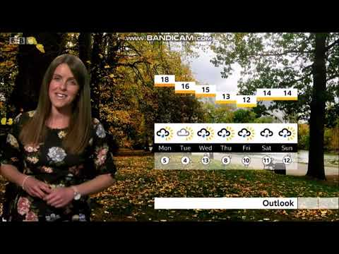 Alex Osbourne BBC Spotlight Weather On BBC ONE September 27th 2020 In HD! - 60 FPS Better Quality