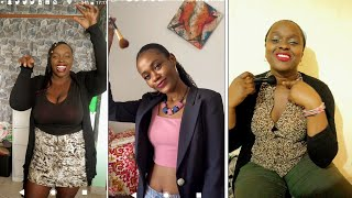 NEW Don't Rush challenge The best African girls Tiktok  INFLUENCERS compilation