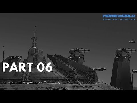 Homeworld Remastered Collection (100% Walkthrough GamePlay) [Diamond Shoals] Part06  