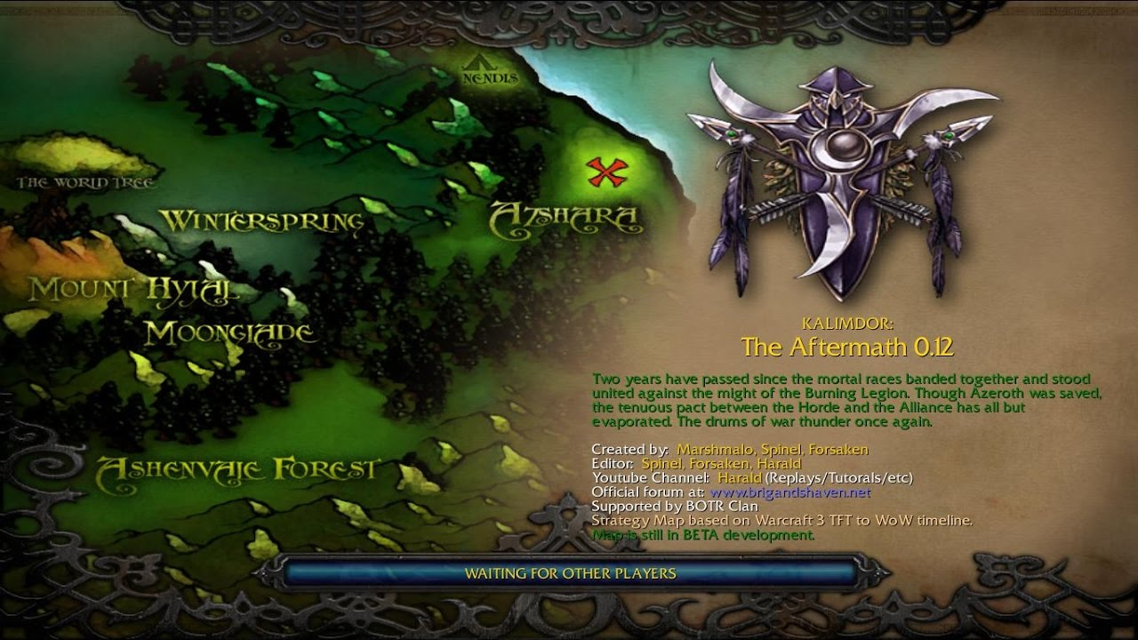 Kalimdor The Aftermath - Kaldorei Empire (Special Guest)