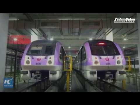 New self-driving metro to begin trial operation in Shanghai