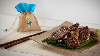 Korean Beef Short Ribs (galbi) Recipe - Korean Series Video 2 - Cookingwithalia - Episode 374