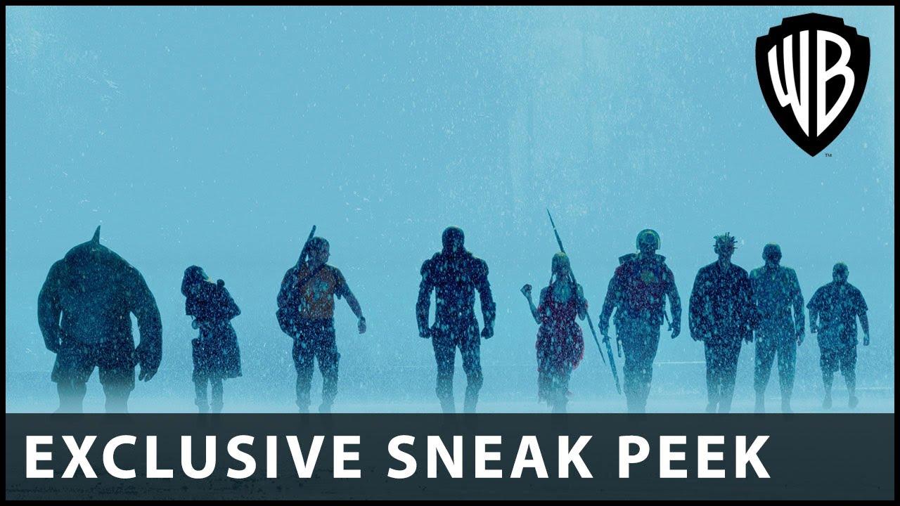 SUICIDE SQUAD - DC Fandome Sneak Peak