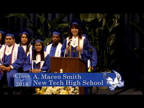 Dallas ISD - A  Maceo Smith Graduation - Class of 2016