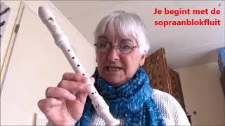 Blokfluit- Open Huis Klankrijk Drenthe 2020
