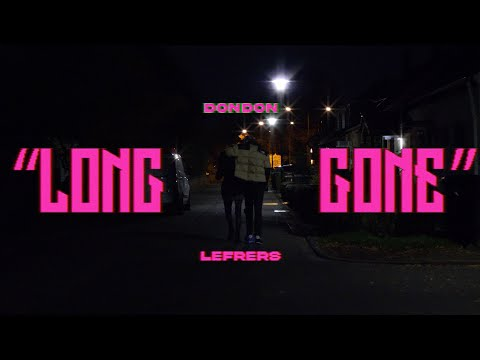 DONDON - LONG GONE feat. LEFRERS (Official Visualizer)
