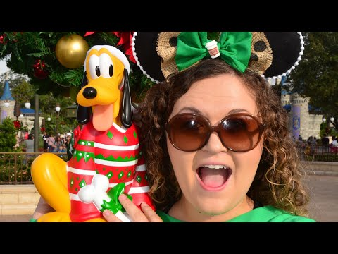 It's Christmas at Magic Kingdom!