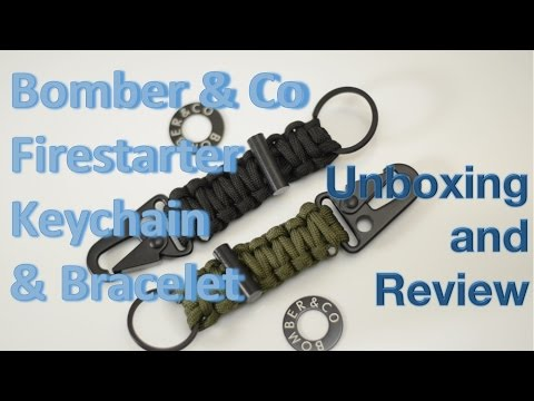 bomber-and-co.-firestarter-keychain-and-bracelet-unboxing-and-review