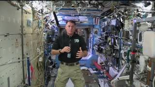 Space Station Commander Discusses Life in Space with Texas Radio Station