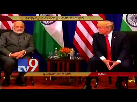 US, India cooperation can rise beyond bilateral ties : PM Modi to Trump - TV9