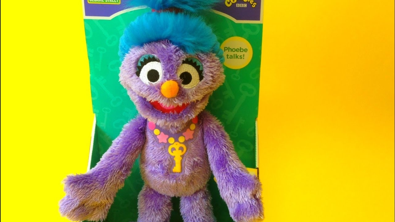 Sesame Street talking Phoebe the Furchester Hotel