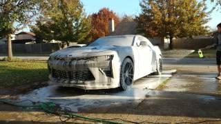 Foam Cannon, 2016 Camaro SS!!