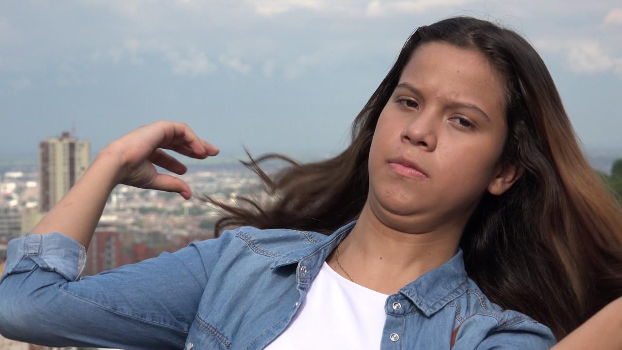 Hot Teen Girl During Summer