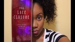 Beauty Supply Store | Velvet Remi Lace Closure | Part 1